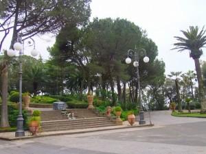 タオルミーナの市民庭園