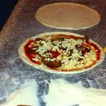 手作りピッツァ