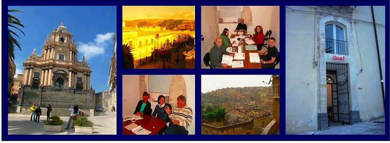 世界遺産の街ラグーサでイタリア語を学ぶ Ibla!