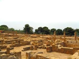 アグリジェント、ヘレニズム。ローマ地区遺跡