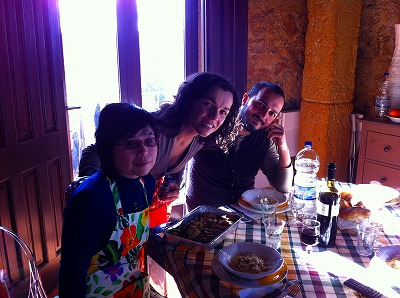 家族との楽しい試食タイム
