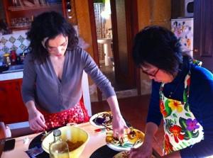 シチリア島のアグリツーリズモで料理教室