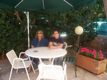 パレルモの庭付きヴィッラでホームステイ!