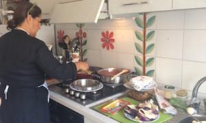 シチリア島各地で本格お料理教室