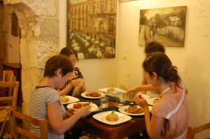 シラクーサのお家で家庭料理教室