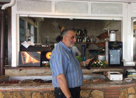 タオルミーナ近郊のレストラン「Ristorante Da Nino」