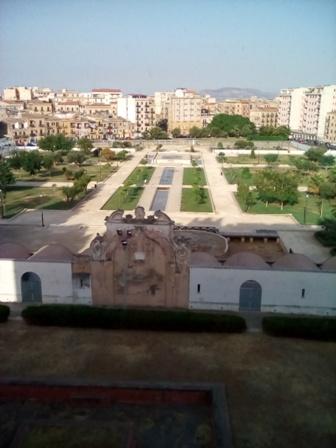 アラブ・ノルマン建築群の1つ、世界遺産のジーザ宮殿