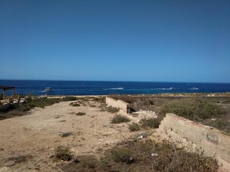 シチリアとアフリカの間にある島ランペドゥーサ島1