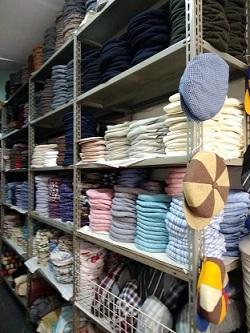 パレルモのコッポラ帽老舗