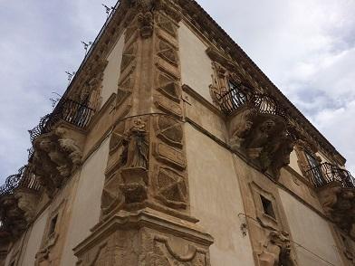 後期バロック様式の町、シクリ(Scicli)