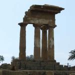 アグリジェント、ディオスクリ神殿