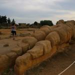 アグリジェント、ゼウス神殿跡
