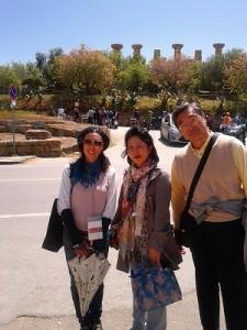 アグリジェント神殿の谷、博物館日本語ガイド付観光
