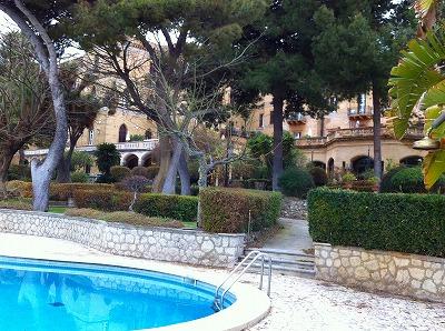 由緒あるお屋敷だった、パレルモの5つ星ホテルVilla Igiea
