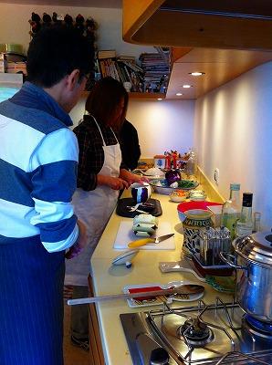 家庭料理教室@タオルミーナ