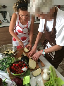 パレルモマンマの料理教室