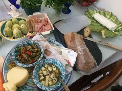 カターニア市場巡りと料理教室